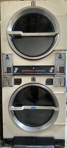 Used Commercial Speed Queen Stack 30lb Gas Dryer