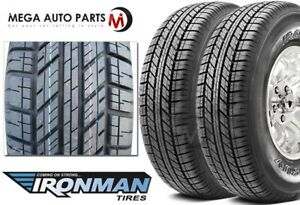 2 Ironman Rb Suv 235 70r15 103s Owl All Season Traction M s Rated Tires
