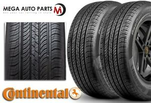 2 Continental Procontact Tx 195 65r15 89h All Season Grand Touring M S Tires