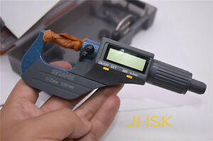 Shahe High Quality Metric Inch Micrometer Electronic Digital Display 0 25mm