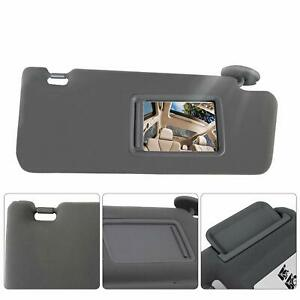 New Passenger Windshield Sun Visor Replacement Gray For Toyota Tacoma 2005 2012