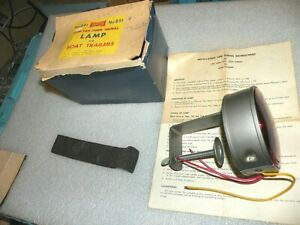 Vintage Yankee 891 Stop Tail Turn Signal Lamp Clamp On For Trailers 6