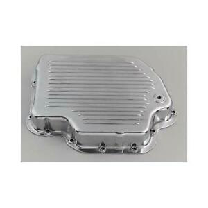 New B M Polished Cast Aluminum Transmission Pan Chevy Turbo 400 T400 64616