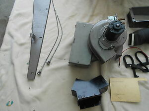 1947 54 Chevy Gmc Truck Nos Heater Defroster Heavy Duty Rare Accessory