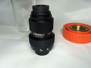 Mitutoyo 1x 5x Zoom Compact Microsocpe Objective 56 991