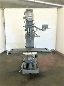 Bridgeport Series I 2 Hp Vertical Ram Type Milling Machine Id M 080