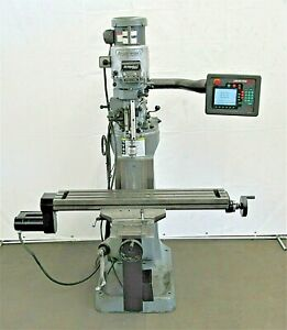 Bridgeport Series I Prototrak Edge Cnc Vertical Mill Id M 081