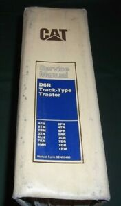 Cat Caterpillar D6r Crawler Tractor Dozer Shop Repair Service Manual