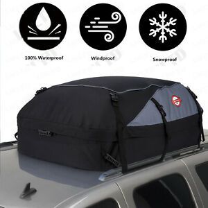 20 cubic Car Cargo Roof Top Carrier Bag Rack Storage Luggage Rooftop Waterproof