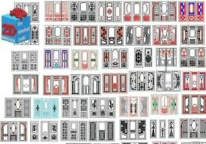 Dxf File Cnc Vector Dxf Plasma Router Laser Cut Dxf cdr Files Doors Mix Dxf cdr