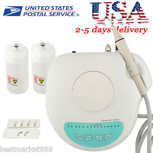 Dental Ultrasonic Scaler 2 Bottles 6 Working Tips For Cleaning Handpiece Fit Ems