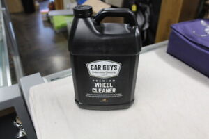 Carguys Premium Wheel Cleaner Gallon Refill For All Wheels Tires Rims 128 Ounces
