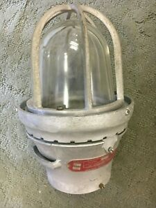 Vintage Industrial Appleton Electric Light Fixtures Pendant Lamp Explosion Proof