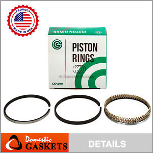 Made In Usa Piston Rings Fit Acura Rsx Honda Civic 2 0l K20a2 K20a3 K20z1 K20z3