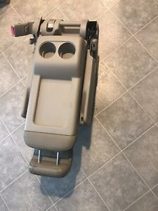 Honda Odyssey Rear Second Row Middle Center Jump Seat Tan Leather 2008 2010