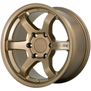 4 motegi Mr150 Trailite 17x8 5 6x5 5 18mm Bronze Wheels Rims 17 Inch