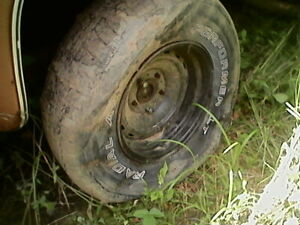 73 87 1973 87 Chevy Gmc Truck Parts C10 15 Rally Rims Set Of 4
