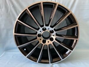 Set Of 4 18 Black S63 Amg Style Rims Wheels Fits Benz Cls500 Cls550 Staggered