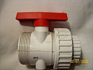 1 1 2 Pvc Double Union Ball Valve