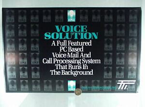 Talking Tecnology Inc Voice Solution Pc Voice Mail Call Processing System