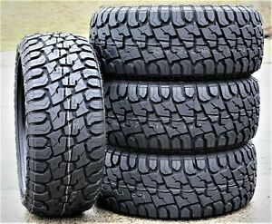 4 Suretrac Wide Climber Rt I Lt 35x12 50r20 F 12 Ply R t Rugged Terrain Tires