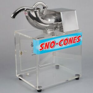 Carnival King Commercial Concession Stand Snow Cone Ice Machine 120v