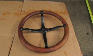 Vintage Antique Model A Or T Ford Steering Wheel 15 Inch