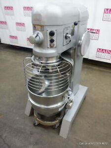 Hobart Donut Dough Mixer 60 Quart With Bowl Dolly Hook Model H 600t