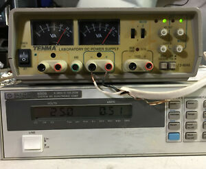 Tenma 72 4045 Triple Output Dc Power Supply 0 24 Vdc 0 5 A 5 Vdc 2a Tested