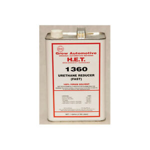 Grow Automotive Fast Urethane Reducer Gallons 1360 1