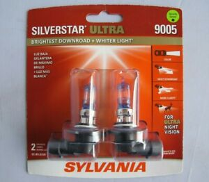 Sylvania 9005 Silverstar Ultra High Performance Halogen Headlight Bulbs