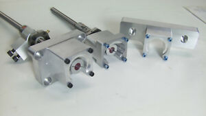 New G0704 Cnc Mill Conversion Kit With C7 Double Ball Nuts
