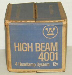 New Westinghouse 12v Safe T Beam High Beam Headlamp Part No 4001
