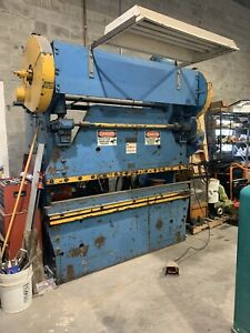 Kr 50 6 Mechanical Press Brake 50 Ton X 6 Ft Used But In Working Condition