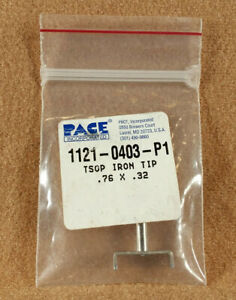 Pace 1121 0403 p1 Tsop Smt Removal Soldering Iron Removal Tip 76 X 32