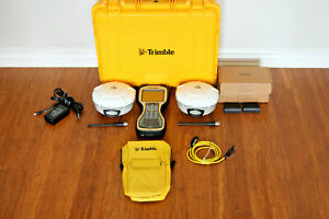 Trimble Dual R8 Model 4 Gps Gnss Base Rover Rtk System Tsc3 Galileo Tdl 450h