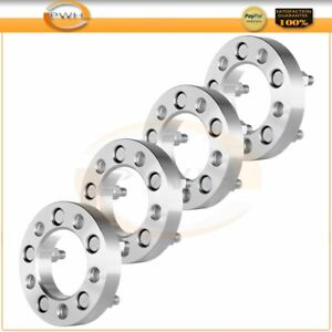 4x 1 25mm Thick 5lug 5x4 5 1 2 Studs Wheel Spacers For 1983 2011 Ford Ranger
