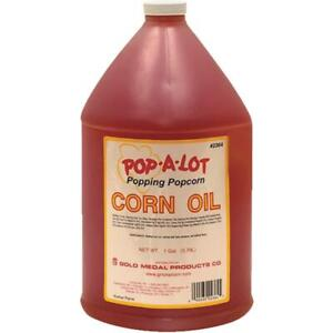 Gold Medal Pop a lot 1 Gal Popcorn Popping Oil 2364 Pack Of 4
