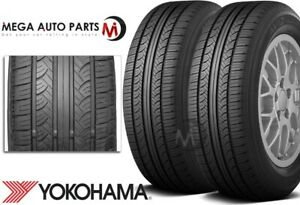 2 Yokohama Avid Touring s P195 65r15 89s All season Tires 620ab 65k Mi Warranty