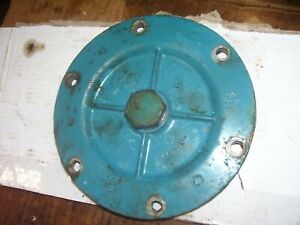 Vintage Fordson Major Diesel Tractor engine Oil Pan Cover Nice 1954