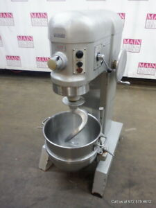Hobart H600t Commercial Dough Mixer 60 Quart With Bowl And Hook
