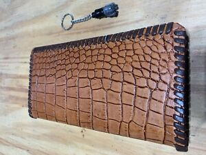 Oil Field Leather Pipe Tally Book Cover 6 75 X 4 G