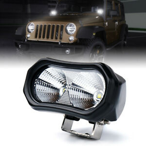 Xprite 10w Led Work Light Bar Flood Pods Driving For Off Road Tractor 4wd Trucks