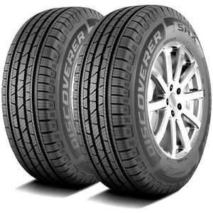 2 New Cooper Discoverer Srx 225 70r16 103t A s All Season Tires