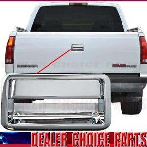 1988 1998 Chevy Gmc C K 1500 2500 3500 Pickup Chrome Tailgate Door Handle Cover