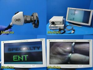 Stryker 1088 Hd Endoscopy Sys W 1088 Camera led3000 Light Source monitor 20883