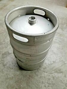 Used Half Barrel Beer 1 2 Keg Stainless Steel 15 5 Gallon Sanke D Spear