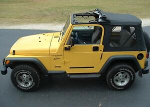 Awesome Jeep Upgrade 97 06 Jeep Wrangler Tj Diy Flip Top Soft Top Sunroof Kit
