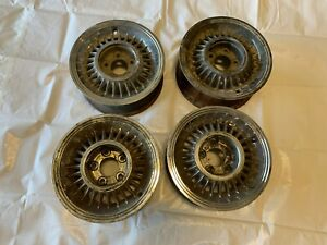 1955 Cadillac Sabre Wheels Rims Set Of 4 Four Eldorado Seville