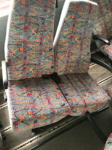 Used Bus Seat Freedman Highback Come In Pair 404307